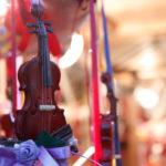ミニチュアのバイオリン