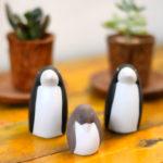 ペンギンの置物 雑貨
