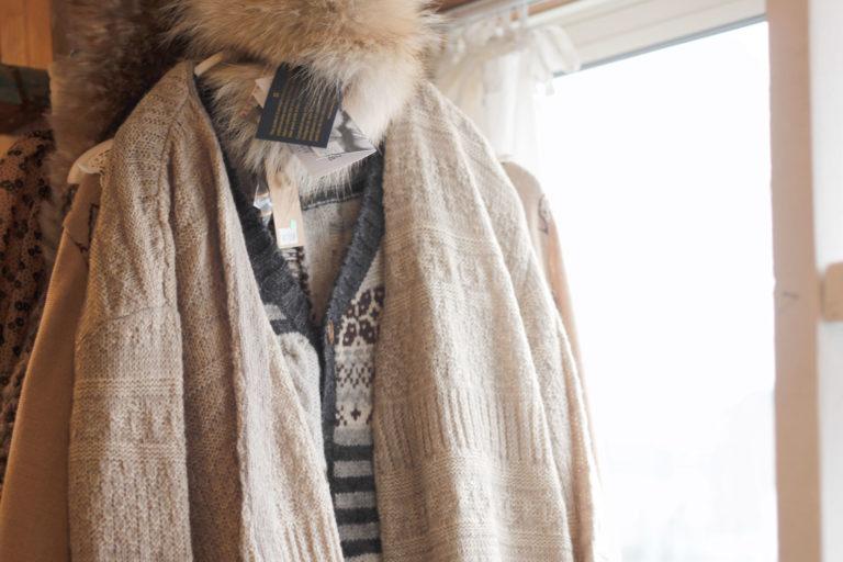 冬物お洋服 無料写真素材
