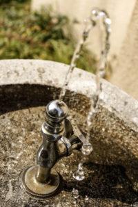 公園の水飲み場