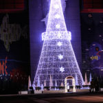 クリスマスツリーのイルミネーション 1