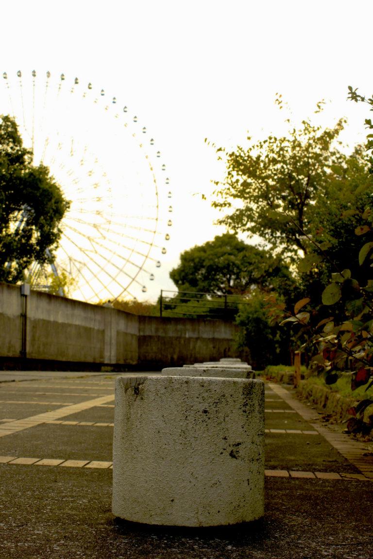 観覧車と公園