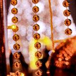 ゴールドのイルミネーション
