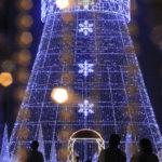 巨大クリスマスツリー 1