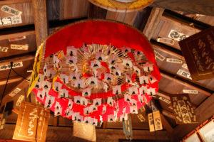 京都 お茶屋さんの天井
