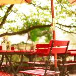 神戸 北野異人館街 オープンカフェ