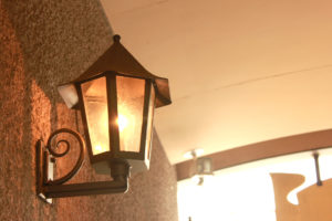 街灯のランプ