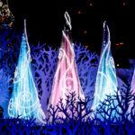 クリスマスツリーのイルミネーション 3
