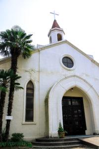 神戸 北野異人館街の教会