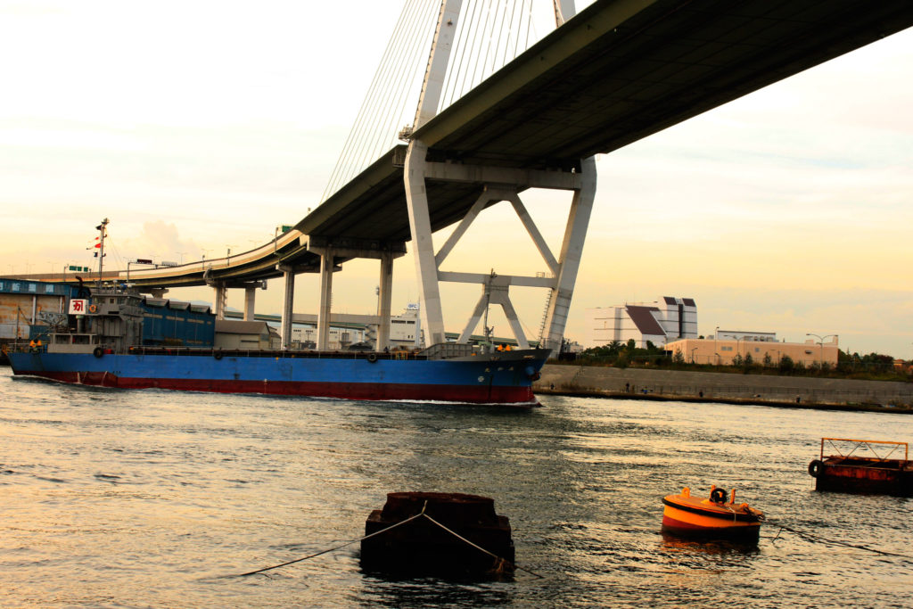 大阪港 橋
