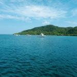 沖縄 石垣島の海と船