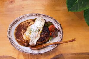 ハワイアン料理 ロコモコ
