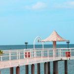 石垣島 フサキビーチの桟橋 1