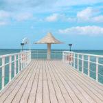 石垣島 フサキビーチの桟橋 2