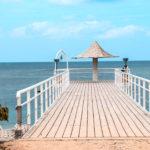 石垣島 フサキビーチの桟橋 3