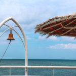 石垣島 フサキビーチの桟橋 4