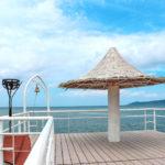 石垣島 フサキビーチの桟橋 5
