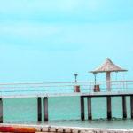石垣島 フサキビーチの桟橋 6