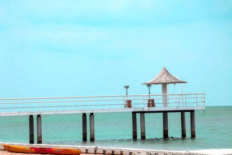 石垣島 フサキビーチの桟橋
