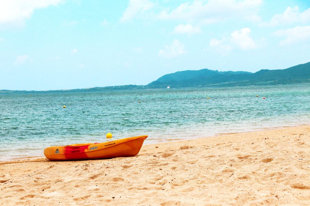 沖縄 石垣島のビーチ