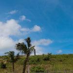 沖縄 石垣島の道路と空 3