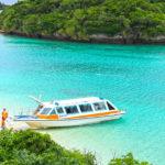 石垣島 川平湾のグラスボート