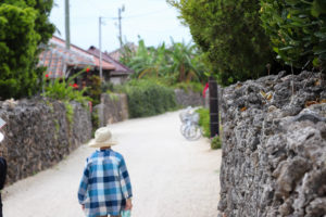 沖縄 竹富島の集落