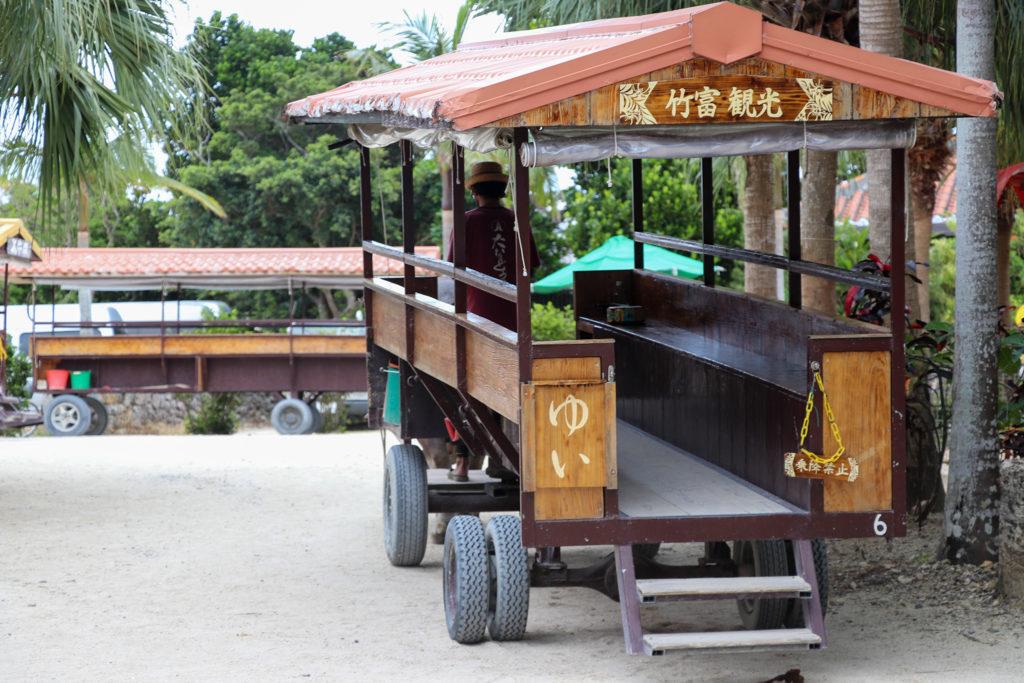 沖縄竹富島 水牛車