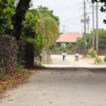 沖縄 竹富島の町並み 道 6