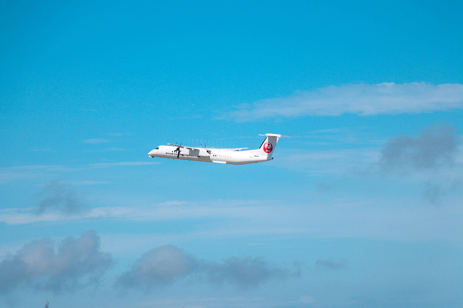 沖縄 石垣空港 飛行機
