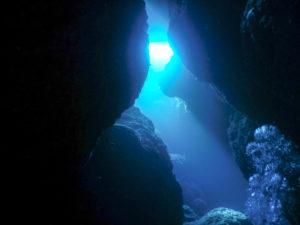 沖縄 慶良間諸島 マリンブルーの海