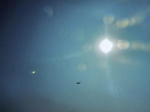 太陽と飛行機