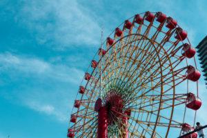 神戸モザイクの大観覧車