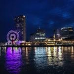 神戸港 MOSAICの夜景