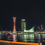 モザイク側から見た神戸の夜景