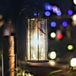神戸モザイク 遊歩道のライト