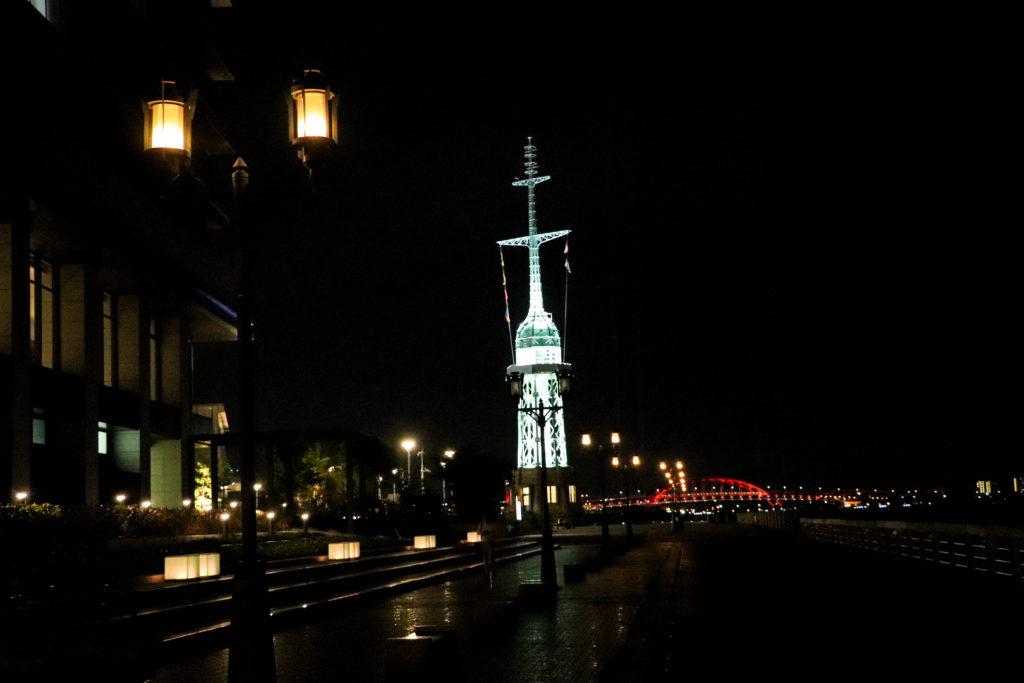 旧新港第五突堤信号所