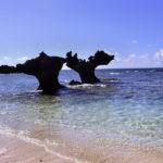 古宇利島 ティーヌ浜の海 ハートロック 3