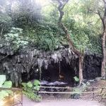 カンガラーの谷 鍾乳洞の洞窟カフェの入口