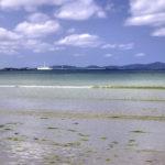 南国の遠浅の海と空 5