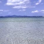 南国の遠浅の海と空 3