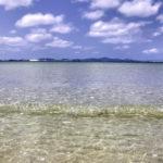 南国の遠浅の海と空 2