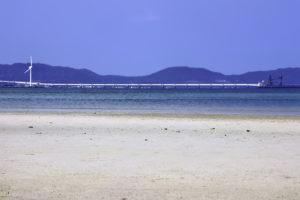 南国の青い海と空