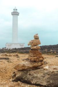 沖縄 残波岬の灯台