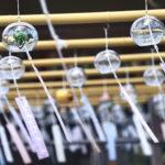 奈良 おふさ観音 風鈴棚