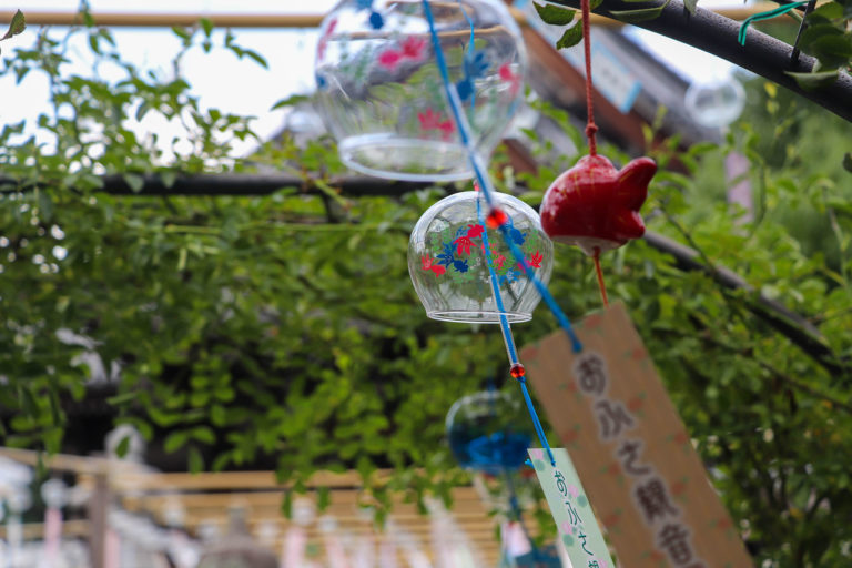 奈良 おふさ観音 風鈴まつり