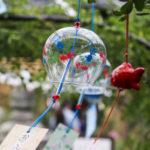 奈良おふさ観音風鈴祭り 金魚の風鈴 2