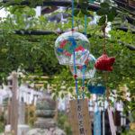 奈良おふさ観音風鈴祭り 金魚の風鈴 3