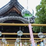 奈良おふさ観音風鈴祭り 風鈴棚 2