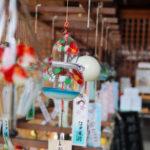 奈良おふさ観音風鈴祭り ひょうたん型の風鈴
